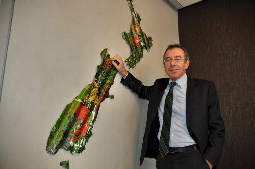 New Zealand Ambassador Richard Mann (Yoav Cerralbo/The Korea Herald)
