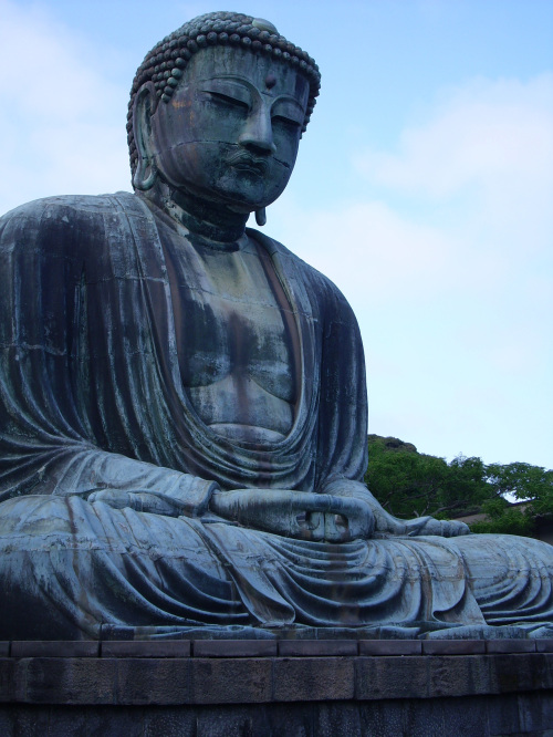 One of Japan's most famous tourist spots is the Great Buddha of Kamakura, a 13th-century bronze statue that sits on a hill overlooking Sagami Bay near Yokohama. Three times the structure housing the Buddha was destroyed, the last by a 1498 tsunami that crushed the temple but left the massive Buddha intact. (MCT)