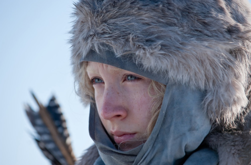 "Saoirse Ronan stars as the title character in Joe Wright's adventure thriller ""Hanna,"" a Focus Features release. (Alex Bailey/Courtesy Focus Features/MCT)"