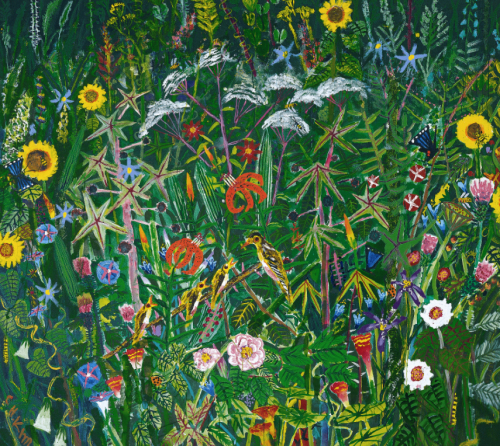 """""""Mount Seorak in Summer"""" by Kim Chong-hak whose exhibition runs through June 26 at the National Museum of Contemporary Art in Gwacheon, Gyeonggi Province. (National Museum of Contemporary Art)"""
