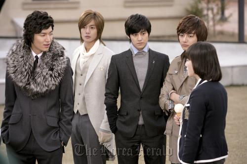 """Boys Over Flowers"" (Group Eight)"