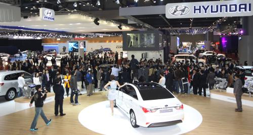 2011 Seoul Motor Show (Yonhap News)