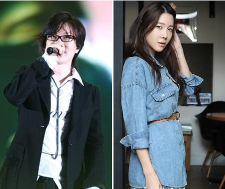 Seo Tae-ji(left) and Lee Ji-ah (Yonhap News)