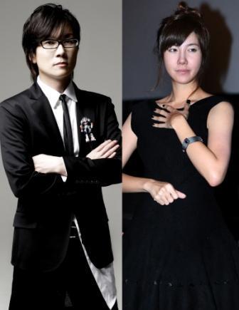 Seo Tai-ji (left) and E Ji-ah (Yonhap News)