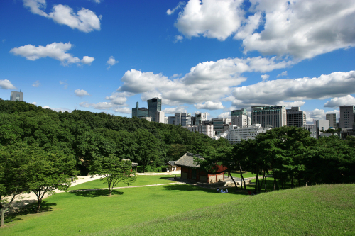 A view of Seonjeongneung in southern Seoul. (Cultural Heritage Administration of Korea)