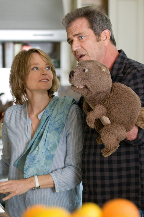 "Jodie Foster (left) and Mel Gibson star in ""The Beaver."" (Ken Regan/Courtesy Summit Entertainment/MCT)"