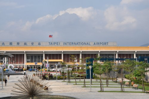 Taipei International Airport (Yoav Cerralbo/The Korea Herald)
