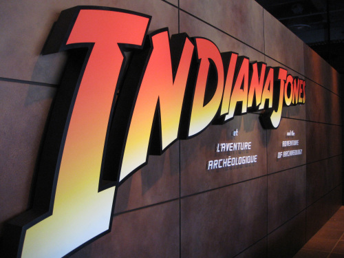 A world premiere museum exhibit opened in Montreal last month showcasing on-screen archeological discoveries of Hollywood's fictional adventurer Indiana Jones. (AFP-Yonhap News)
