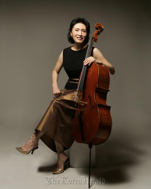 Cellist Chung Myung-wha. (Goyang Aram Nuri Arts Center)