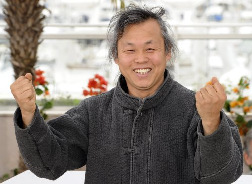 Director Kim Ki-duk during a photo call for Arirang, at the 64th international film festival, in Cannes, southern France, on Friday. (AP-Yonhap News)