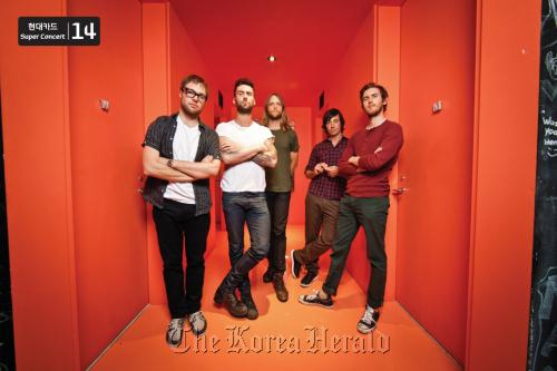 U.S. rock band Maroon 5 (Hyundai Card)