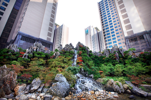 Samsung Raemian apartment complex in Banpo, southern Seoul