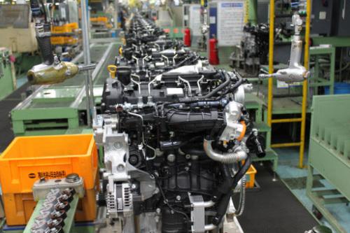 A Hyundai Motor assembly line in Ulsan (Yonhap News)
