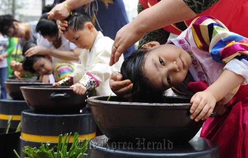 May Calendar Korea : Taste of 'dano at start summer