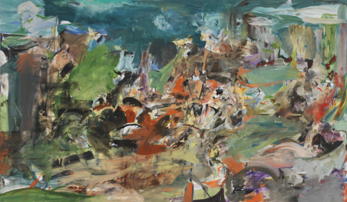 """""""Lamb Goes Uncomplaining Forth"""" by Cecily Brown Kukje Gallery"""