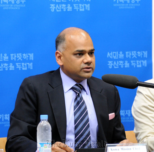 Subir Lall, Internaional Monetary Fund's Mission Chief for Korea. (Yonhap News)