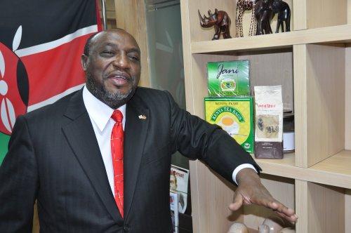 Kenya Ambassador Ngovi Kitau (Yoav Cerralbo/The Korea Herald)
