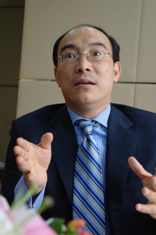 George Lu, chairman of Acquity Group