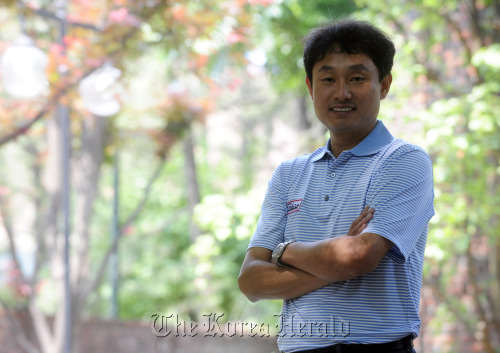 PGA master professional Jay Kyungwoo Na (Park Hae-mook/The Korea Herald)