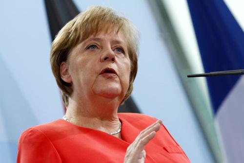 Angela Merkel (Bloomberg)
