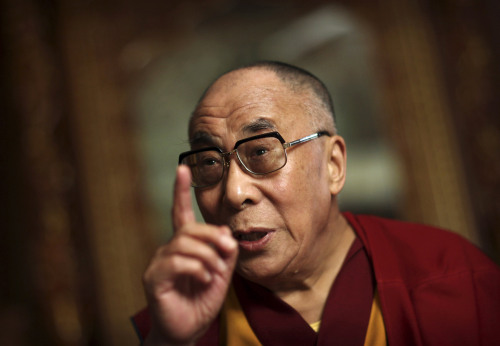 Dalai Lama (AP-Yonhap News)