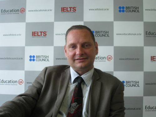 Dr. Darren O'Byrne (British Council Korea)