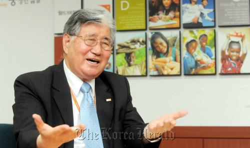 World Vision Korea CEO Dr. Park Jong-sam (WVK)