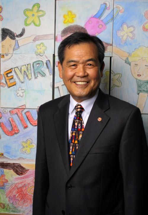 Save the Children Korea president Kim No-bo