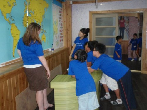 Elementary school children at a previous HOPE summer camp. (HOPE)