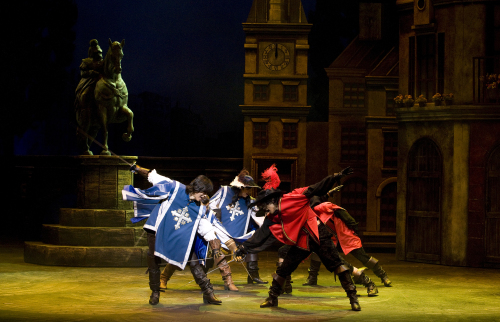"A scene from ""The Three Musketeers"" (M Musical Company)"