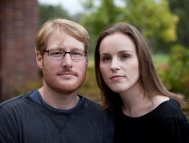 A young couple poses for portrait in San Jose, California. (MCT)
