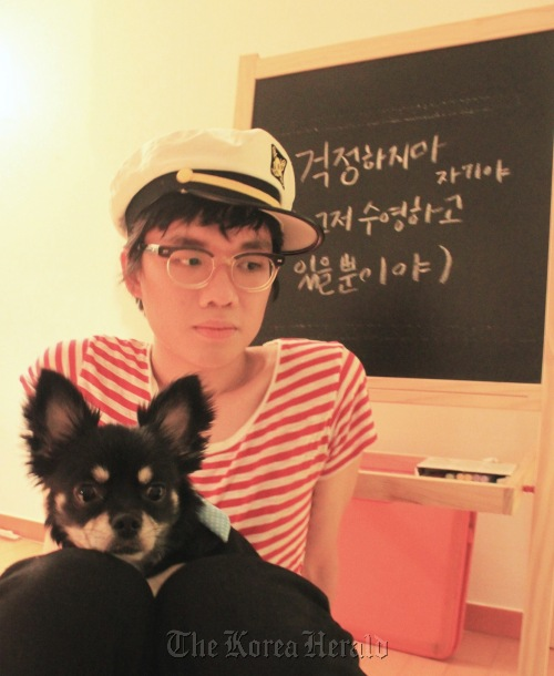 Holiday Cho of The Black Skirts, a one-man indie band (Sony Music Entertainment Korea)