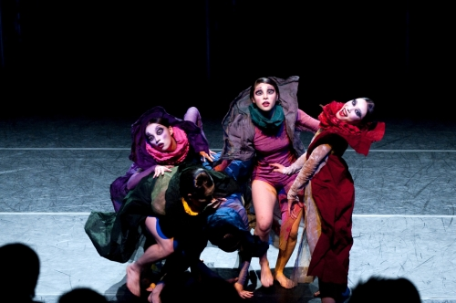 """A scene from one of the performances from the """"New Concept Performing Arts Festival"""" (HanPAC)"""