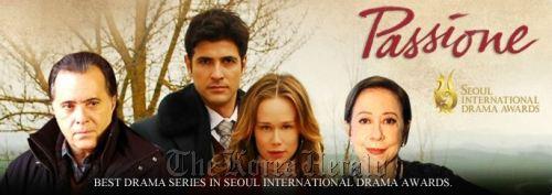 "Poster of ""Passione."" (Telenovela)"