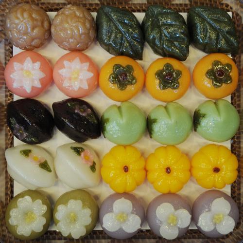 Korean Chuseok Rice Cakes