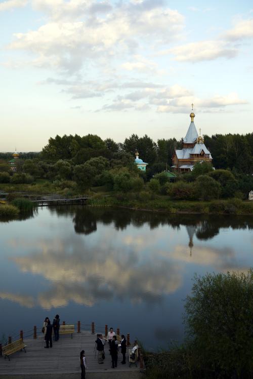 Volga Manor is Harbin's famous Russian-style lodging facility. (Yang Sung-jin/The Korea Herald)