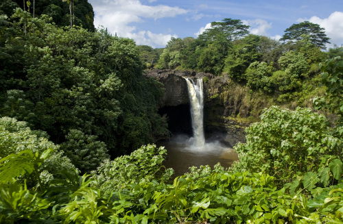 The 80-foot Rainbow Falls is found at Wailuku River State Park in Hilo, Hawaii. (MCT)