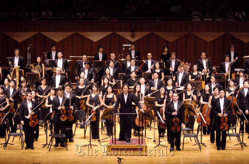 Seoul Philharmonic Orchestra with conductor Chung Myung-whun (SPO)