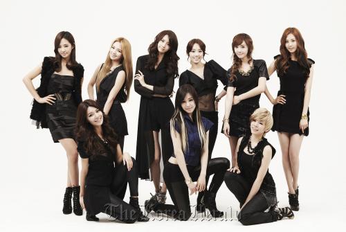 Girls' Generation members clockwise from top left: Yuri, Hyoyeon, Yoona, Taeyeon, Jessica, Seohyun, Sunny, Tiffany and Sooyoung S.M. Entertainment