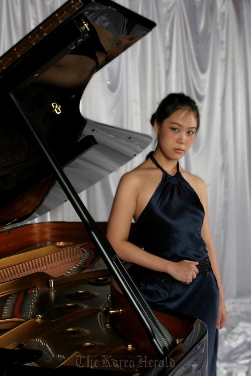 Pianist Son Yeol-eum. (The Suwon Philharmonic Orchestra)