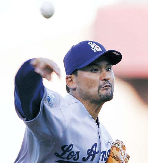Park Chan-ho was an All-Star with the Los Angeles Dodgers. (File photo)