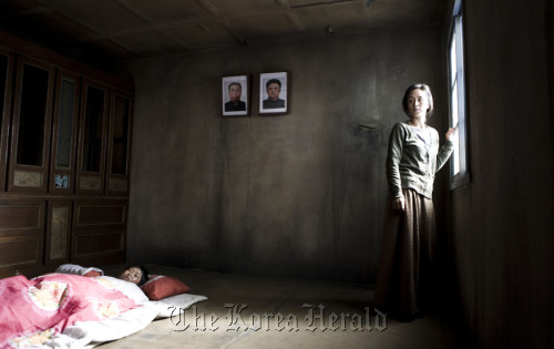 """A scene from director Kim Gyoo-min's """"Winter Butterfly,"""" which is being screened at the first North Korean Human Rights Film Festival this year. (Smilecine)"""