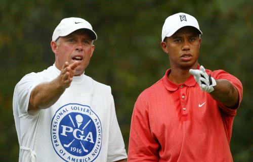 Tiger Woods' former caddie Steve Williams (UPI-Yonhap News)