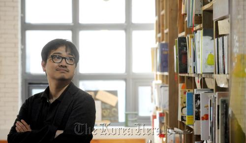 Director Yeun Sang-ho (Ahn Hoon/The Korea Herald)