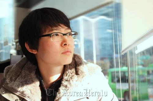 Director KangYu Ga-ram. (Claire Lee/The Korea Herald)
