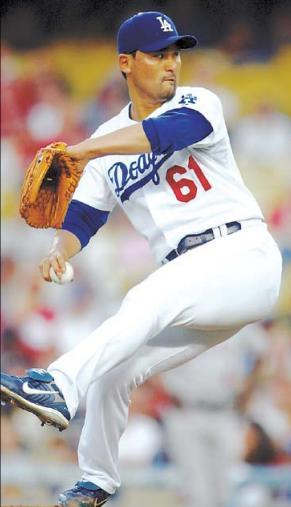 Park Chan-ho enjoyed his best seasons with the Los Angeles Dodgers. (File photo)