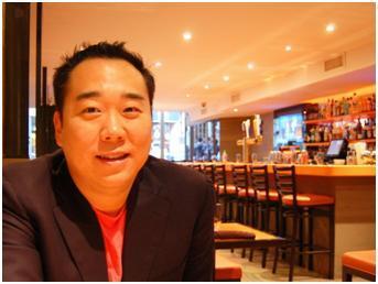Bobby Kwak at Social Eatz (Yonhap News)