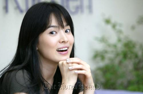 Actress Song Hye-kyo (The Korea Herald)