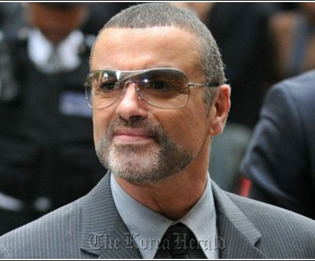 Pop singer George Michael