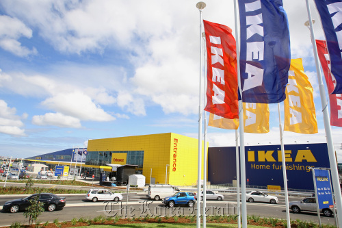 An IKEA store that opened in Sydney, Australia on Nov. 3. (Bloomberg)